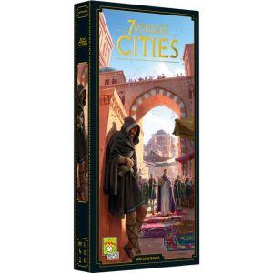 Asmodée Cities - Extension 7 Wonders nouvelle version