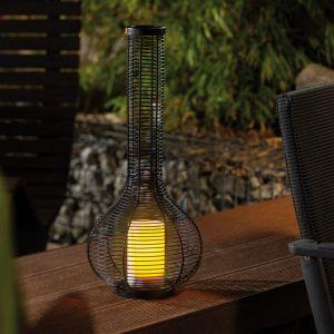 Esotec Lampe solaire décorative 55 cm lampe de jardin lanterne lampe solaire extérieure 102226