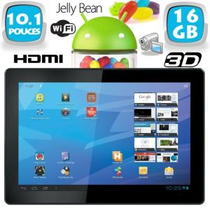 "Yonis Y-tta10.1hdmi16go - Tablette tactile 10"" sous Android 4.1 (8 Go interne + Micro SD 8 Go)"