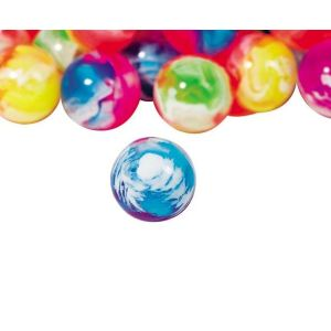 Goki 16055 - Balles rebondissantes marbrées colorées