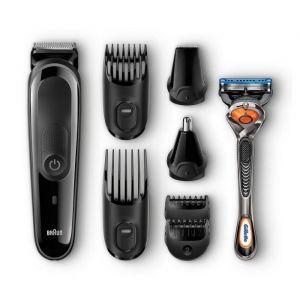 Braun MGK 3060 - Tondeuse 8 en 1 visage et cheveux