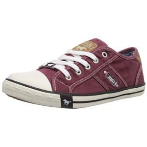 Mustang 1099 302 55, Sneakers Basses femme, Rouge (55 Bordeaux), 41 EU