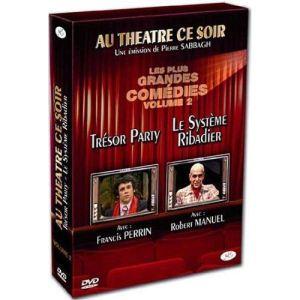 Coffret Au théâtre ce soir - volume 2 : Le système Ribadier + Trésor party