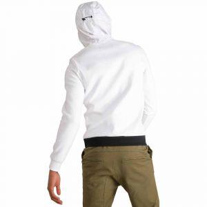 Le Coq Sportif Sweatshirts Le-coq-sportif Tech Hoody 1/2 Zip - New Optical White - M