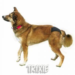 Trixie Toilettes, couches et ramasse-crottes Slip de protection, noir