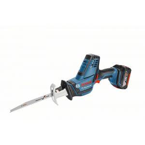 Bosch Professional GSA 18 V-LI C + 2x 5,0Ah Li-Ion - Scie sabre sans fil