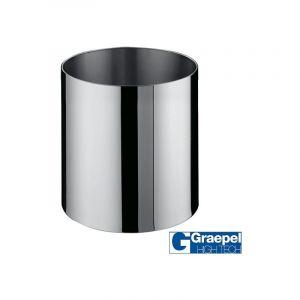 Pot GRAEPEL Fiorere Naxos, Inox Poli à roulettes Metal Taille 6 Intérieur Avec roulettes GRAEPEL HIGH TECH