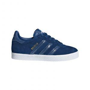 Adidas Gazelle Dots Originals Bleu/argent 30 Enfant
