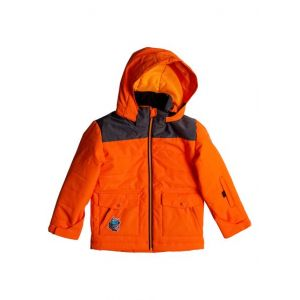 Quiksilver Mr Men Edgy Kids Jkt Shocki Orange