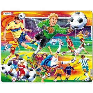 Larsen Football - Puzzle cadre 65 pièces