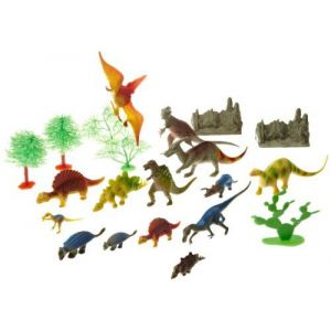Wild Republic Seau dinosaure 23 pièces
