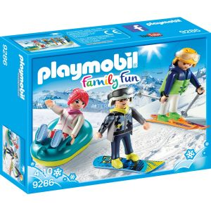 Playmobil 9286 - Vacanciers aux sports d'hiver