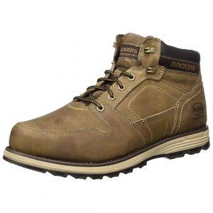 Dockers by Gerli 39ti001-142, Desert Boots Homme, Gris (Stone), 45 EU