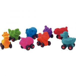 Jura Micros animaux RUBBABU - Lot de 8