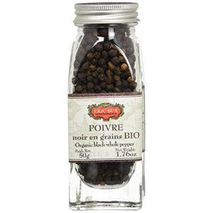 Eric Bur Poivre Poivre Noir en Grains - Bio - 50g