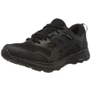 Asics Gel-Sonoma 5 G-TX, Running Shoe Femme - Noir (Black/Black) - 42.5 EU
