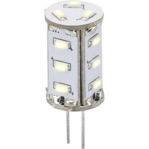 Sygonix Ampoule LED G4 LN-04-15NS-TR-30D-WW-00 à broches 0.8 W = 5 W blanc chaud (Ø x L) 13 mm x 33 mm EEC: A 1 pc(s)