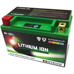 Skyrich Batterie Lithium ION LTX20CH-BS sans Entretien