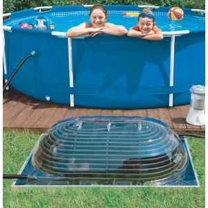 Poolstar Réchauffeur solaire AquaDome