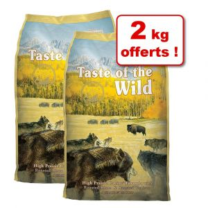 Taste of the wild Croquettes chien Wetlands Contenance : 2 kg