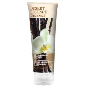 Desert Essence Nettoyant corporel revitalisant au thé chai vanille