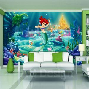 Fresque murale Disney Arielle la Petite Sirène