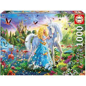 Educa la Princesse et la Licorne 1000 pièces, 17654