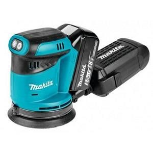 Makita Ponceuse excentrique 125mm à batteries LXT 18V (2 X 5,0AH) DBO180RTJ