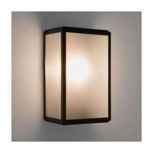 Illumina EEC A++, Luminaire d'extérieur Homefield - 1 ampoule Acier inoxydable noir