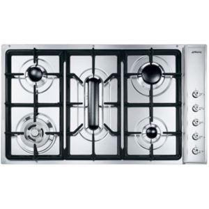 Smeg SE93SGH3 - Table de cuisson gaz 5 foyers