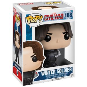 Funko Pop! Winter Soldier Without Arm - Figurine Captain America Civil War exclu 10 cm