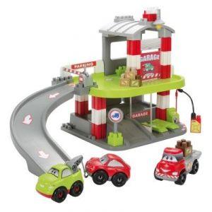 Ecoiffier Abrick Garage Fast Car