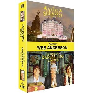 Coffret Wes Anderson : The Grand Budapest Hotel + A bord du Darjeeling Limited