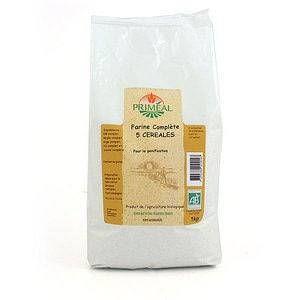 Priméal Farine Complète 5 céréales 1kg