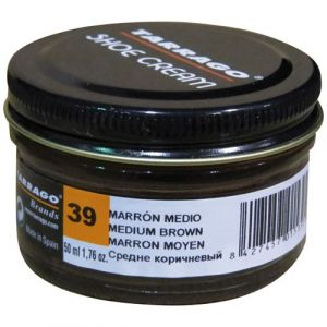 Tarrago Pommadier marron moyen 50 mL - Cirage, Entretien, Imperméabilisant