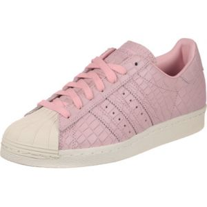 Adidas Superstar 80s, Baskets Hautes Femme, Rose (Wonder Pink/Wonder Pink/Off White), 37 1/3 EU