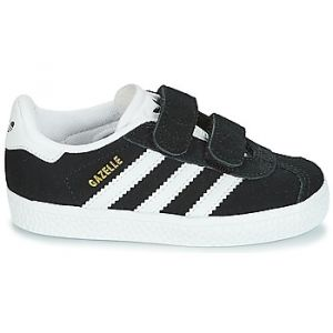 Adidas Gazelle CF I, Chaussures de Fitness Mixte Enfant, Noir (Negbas/Ftwbla 000), 27 EU