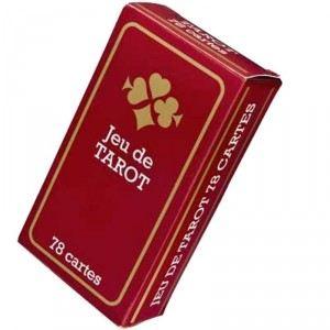 France Cartes Jeu de Tarot : 78 cartes