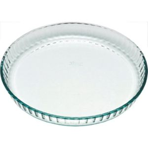 Pyrex Moule à tarte Classic rond en verre 27 cm