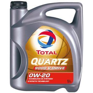 Total Huile Moteur 0W20 Quartz 9000 V-Drive 5L