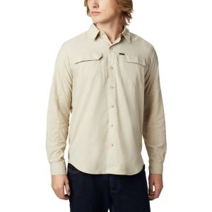 Columbia Silver Ridge 2.0 Chemise manches longues Homme, fossil XL T-shirts techniques