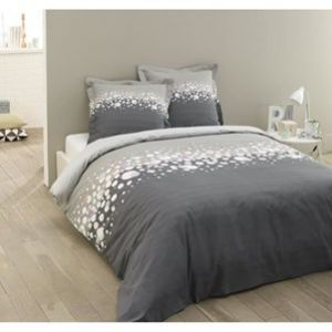 vision jules housse de couette et 2 taies 100 coton 57 fils 220 x 240 cm comparer avec. Black Bedroom Furniture Sets. Home Design Ideas