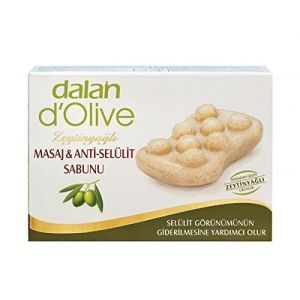 Dalan d'Olive Savon de massage anti-cellulite à huile d'olive