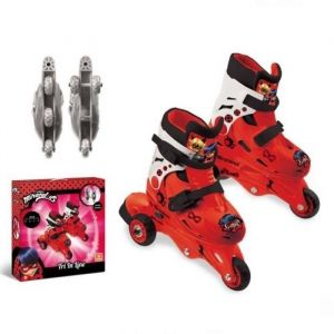 "Mondo Miraculous - Rollers 3 roues évolutifs ""2-en-1"""