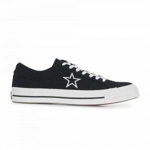 Converse Chaussures casual unisexes One Star basses en toile Canvas Seasonal Color Noir - Taille 40