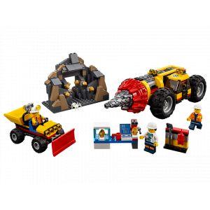 Lego 60186 - City : la Foreuse du Minerai