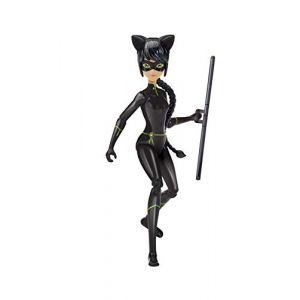 Bandai MIRACULOUS LADYBUG - Figurine super articulée 15 cm - Lady Noir
