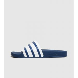 Adidas Adilette, Mocassins Homme, Bleu (Adiblue/Adiblue/White), 44.5 EU