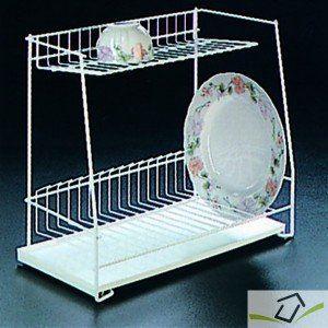 Metaltex Egouttoir à vaisselle Lagon 2 étages