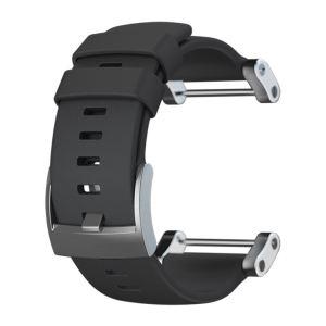Suunto SS020341000 - Bracelet pour montre Core Flat Black Rubber Strap